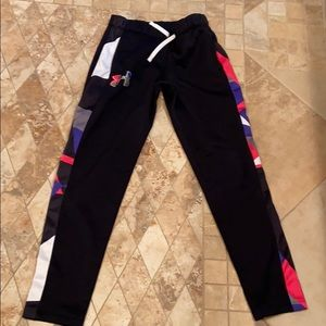 Under armour youth medium multi color pants